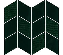 Paradyż uniwersalna mozaika szklana verde Paradyż Garden 20,5 cm x 23,8 cm