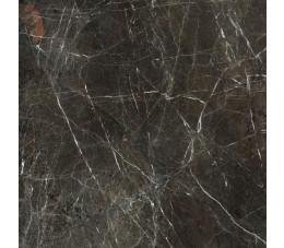 Paradyż płytki Tosi brown gres szkliwiony, rektyfikowany, wykończenie poler 89,8 cm x 89,8 cm