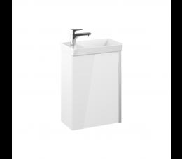 Elita zestaw Spring 45 cm 1D biały (szafka + umywalka Enjoy)
