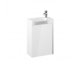 Elita zestaw Summer 45 cm 1D biały (szafka + umywalka Elegance)