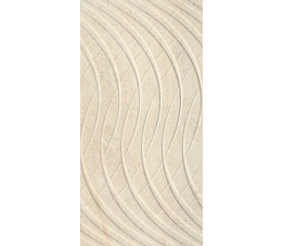 Paradyż Sunlight Sand Dark Crema ściana B struktura 30 cm x 60 cm