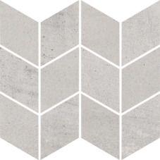 Paradyż Space grys mozaika cięta romb braid, wykończenie matowe 20,5 cm x 23,8 cm