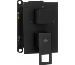 Deante Anemon komponent do box'a mieszaczowego, kolor: czarny