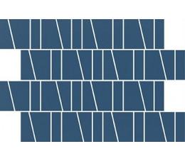 Cersanit mozaika Zambezi Blue Trapeze ,wykończenie matowe, 20 cm x 29,9 cm