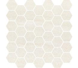 Cersanit mozaika Bantu cream heksagon small mozaic glossy 29 cm x 29,7 cm