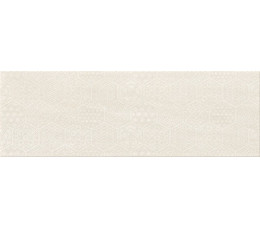 Cersanit płytki ścienne Bantu cream heksagon inserto glossy 20 cm x 60 cm