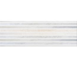 Cersanit płytki ścienne Stone Flowers multicolor inserto geo 25 cm x 75 cm