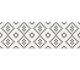 Cersanit mozaika  Black&White mosaic 25 cm x 75 cm