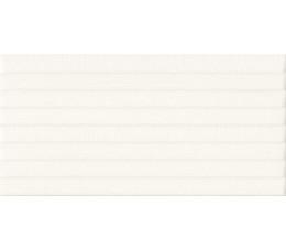 Cersanit płytki ścienne PS801 white satin pattern line structure 29,8 cm x 59,8 cm