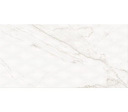 Cersanit płytki ścienne PS804 white glossy diamond structure 29,8 cm x 59,8 cm