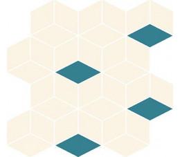 Cersanit mozaika Colour Blink mosaic diamond mix 28 cm x 29,7 cm