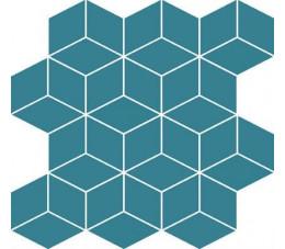 Cersanit mozaika Colour Blink mosaic diamont turquoise 28 cm x 29,7 cm