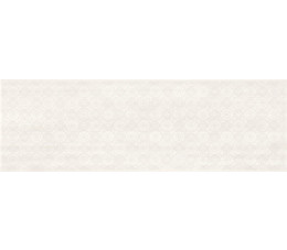 Cersanit dekoracje Ferano white lace inserto satin 24 cm x 74 cm