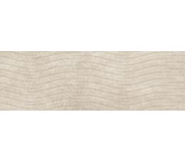 Cersanit płytki ścienne Torana brown 3D satin 24 cm x 74 cm