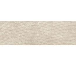 Cersanit płytki ścienne Torana cream 3D satin 24 cm x 74 cm