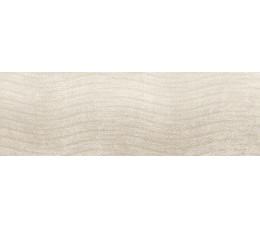 Cersanit płytki ścienne Torana cream tonal 3D satin 24 cm x 74 cm