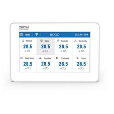 TECH Sterowniki przewodowy panel kontrolny z modułem WiFi (montaż podtynkowy) M- 9R, kolor: biały