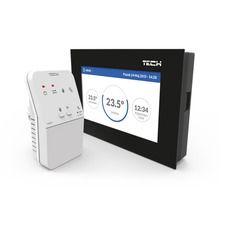 TECH Sterowniki bezprzewodowy regulator pokojowy dwustanowy ST-283 C WiFi, kolor: czarny