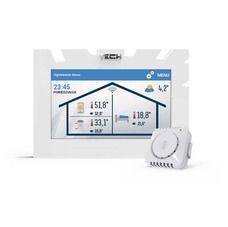 TECH Sterowniki regulator pokojowy z komunikacją OPENTHERM ST-2801 WiFi + komunikacja WiFi, kolor: biały