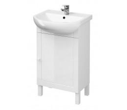 Cersanit zestaw Arteco New 50 cm biały (szafka + umywalka)