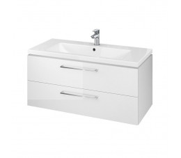 Cersanit zestaw szafka Lara + umywalka Como 100 cm, kolor biały