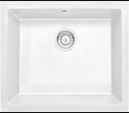 Deante zlewozmywak 1-komorowy bez ociekacza Corda Flush, kolor: alabaster