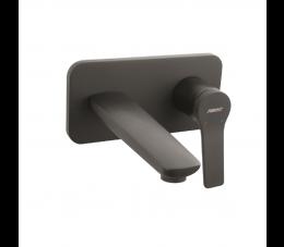 Ferro Stratos Black bateria umywalkowa podtynkowa, kolor: czarny
