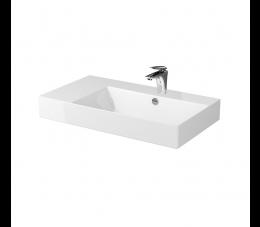 Cersanit umywalka meblowo- nablatowa Inverto 80 cm, lewa