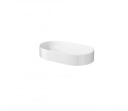 Cersanit umywalka nablatowa Inverto 60 cm, owalna