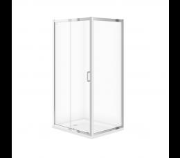 Cersanit kabina prysznicowa Arteco przesuwna 100 cm x 80 cm x 190 cm