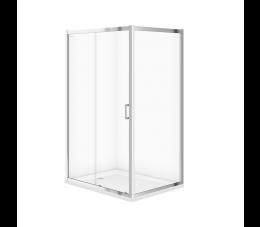 Cersanit kabina prysznicowa Arteco przesuwna 120 cm x 90 cm x 190 cm