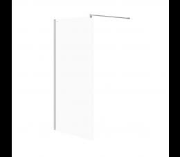 Cersanit kabina prysznicowa walk-in Mille 100 cm x 200 cm, profile: chrom