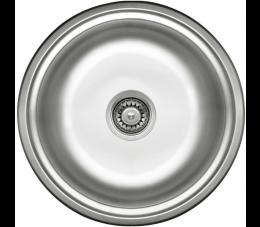 Deante Twist zlewozmywak okrągły 1-komorowy okrągły bez ociekacza, dekor