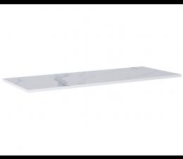 Elita ElitStone blat marmur Calacatta 140 cm x 49,4 cm, white matt