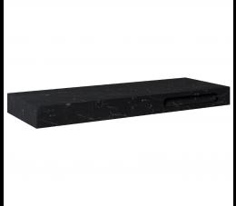 Elita ElitStone konsola marmur Maraquina 140 cm x 46 cm x 12 cm, black matt