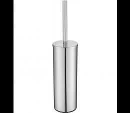 Deante Round szczotka WC wolnostojąca z pojemnikiem, chrom