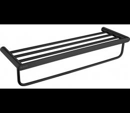 Deante Round półka żeberkowa, czarna