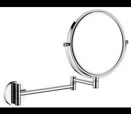 Deante Round lusterko kosmetyczne na ramieniu 2-stronne, 3x powiększenie, chrom