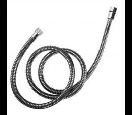 Laveo Goma wąż natryskowy PVC 1500 mm, czarny/ chrom