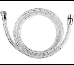Laveo Goma wąż natryskowy PVC 1500 mm, biały/ chrom