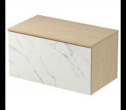 Cersanit Inverto szafka z blatem Calacatta, 80 cm