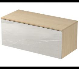 Cersanit  Inverto szafka z blatem Lake Stone, 100 cm