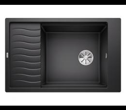 Blanco zlewozmywak ELON XL 6 S Silgranit PuraDur Antracyt odwracalny, InFino, kratka ociekowa