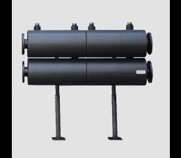 Womix system do kaskady kotłów wiszących rozdzielacz kaskadowy MK 125 2 F - DN 80 moduł dwuobwodowy z izolacją
