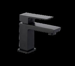Invena Paros bateria umywalkowa stojąca, kolor: czarny