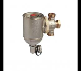 Giacomini separator zanieczyszczeń z komorą cyklonową i filtrem 3/4