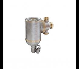 Giacomini separator zanieczyszczeń z komorą cyklonową i filtrem 1