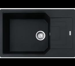 Franke zlewozmywak Urban UBG 611-78 XL Fragranit+ czarny mat