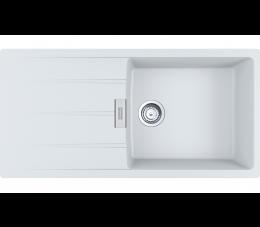 Franke zlewozmywak Centro CNG 611-100 Fragranit+ biały polarny