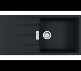 Franke zlewozmywak Centro CNG 611-100 Fragranit+ czarny mat